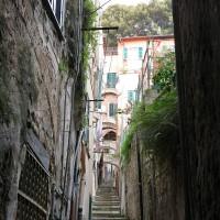 Wege in der Altstadt San Remo